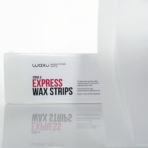 waxu Express Intimate Waxing Strips