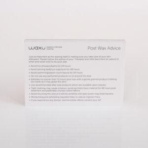 Post wax Info